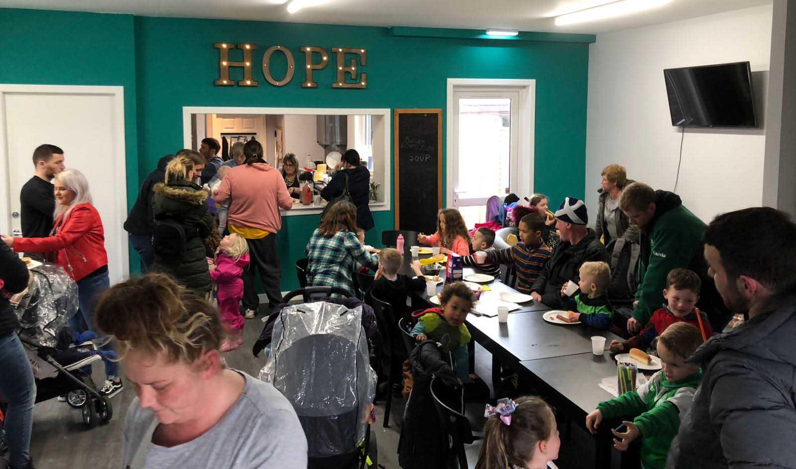 Community Cafe in Bingham - Hope Church