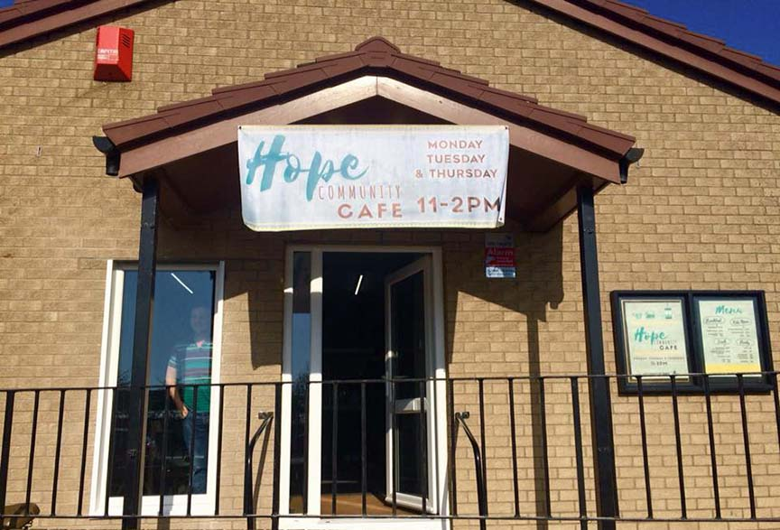 Community Cafe in Bingham - Hope Church